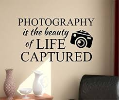 Quotes About Photography And Beauty Best Of Amazon Ditooms Photography Quote Wall Decals Beauty Of Life