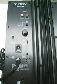 infinity amplifier. infinity rs-8 speaker power amplifier assembly o