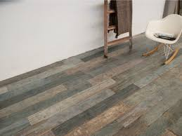 Rustic Wood Looking Tile Floor rustic-living-room