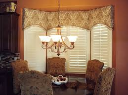Window coverings  arched cornice great for bay windows ...