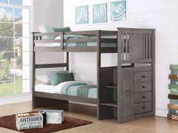 embrace loft bed with caster and left steps. full size of bunk bedsbunk bed with desk ikea twin storage embrace loft caster and left steps