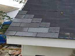 row starter shingles nailed to the roof in stairstep fashion 3 tab installation p18 tab