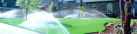 yard sprinkler lawn sprinklers installations home depot valves system garden automatic par