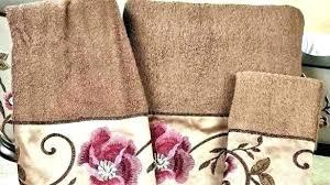 decorative bath towels purple. Decorative Towel Sets Bath Towels Purple Captivating Embroidered Floral I