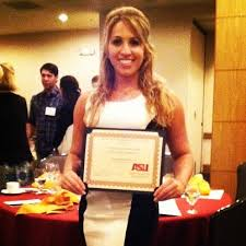 samantha arizona cardinals cheerleader asu outstanding  asu engineer science cheerleader