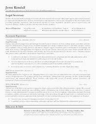 Cover Letter Sample For Legal Assistant Internship Paralegal Resume
