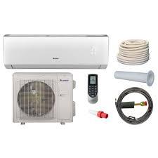 split unit heat pump. Beautiful Unit GREE Vireo 33600 BTU Ductless Mini Split Air Conditioner And Heat Pump Kit  230Volt For Unit Home Depot