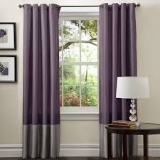 Purple And Grey Bedroom Color Block Curtains Purple Best Contemporary Curtains Trends