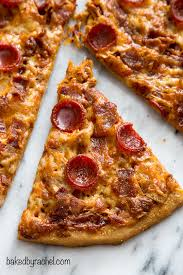 whole pepperoni pizza. Brilliant Whole Whole Wheat Spicy Barbecue Chicken Enchilada Pizza With Bacon And Pepperoni  Recipe From Bakedbyrachel For Pepperoni Pizza