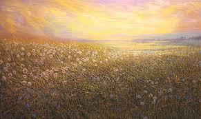 Dandelion Summer, Oil artwork by Raquel Clarke