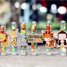 Beer Box Decorations Wild Animal Candy Box Gift Box candy bar Dessert Party Supplies 32