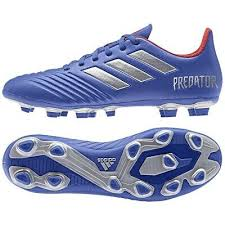 Shoes Adidas Predator 19 4 Fxg Bb8113 Blue 40 Soccer Football Boots Ebay