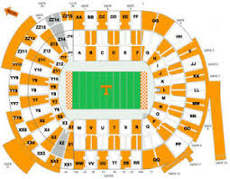 Georgia State Football Seating Chart Details About 4 X Ut Vols Vs Georgia State Tickets W Parking Pass