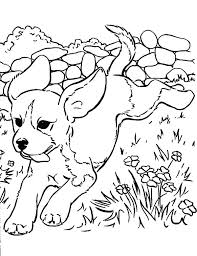 Cute Coloring Pages Of Puppies Cute Puppy Colouring Pages To Print