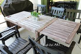 Furniture Wooden Outdoor Furniture Painted Simple Pertaining To