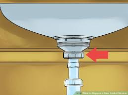 Replace Kitchen Sink Drain U2013 SongwritingcoHow To Replace A Kitchen Sink Basket Strainer