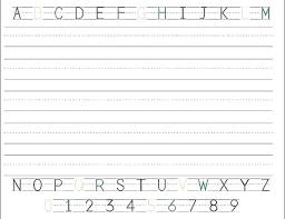 Printable Alphabet Writing Practice Sheets Printable Alphabet Cards Writing Worksheets Free Handwriting