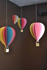shocking hot air balloon inspired decorations that will take you to cloud nine picture of wall