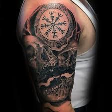 40 Helm Of Awe Tattoo Vzory Pro Muže Myšlenky Na Norské Mytologie