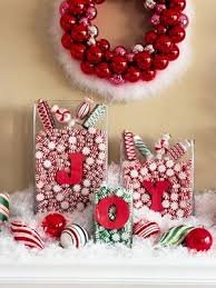 How To Decorate A Candy Cane For Christmas Home Christmas Decoration Christmas Decoration Candy cane theme 59