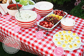 How to create a red and white retro themed barbecue party complete with an  old fashioned