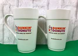 Our dunkin donuts ceramic coffee mugs come in two sizes (11 oz. Dunkin Donuts 2013 America Runs On Dunkin Tall Ceramic 16 Oz Coffee Mugs Ebay 16 Oz Coffee Mugs Dunkin Donuts Mugs