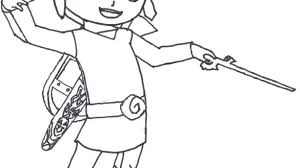 Link Coloring Pages Download This Coloring Page Toon Link Printable