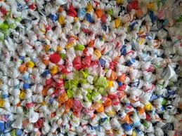 Fabric Rug Diy Learn How To Crochet A Round Rag Rug Look At What I Made