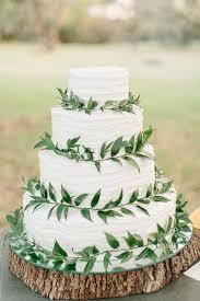11 Nature Wedding Cakes Photo Simple Wedding Cake With Greenery
