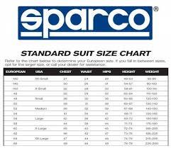 Omp Kart Suit Size Chart Sparco Competition Race Suit 2019