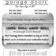 reliable garage doorDayton Reliable Garage Door Service  Home  Facebook