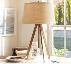 small tripod table lamp piedmont table lamp base pottery barn odayygz