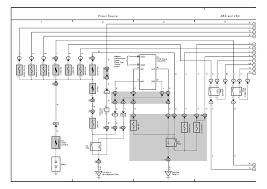 toyota prius wiring diagrams toyota wiring diagrams