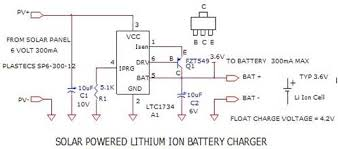 solar power related schematics, optoelectronic circuits, optical Solar Panel Wiring Diagram For Volt 5 solar powered lithium ion battery charger the circuit Solar Cell Wiring-Diagram