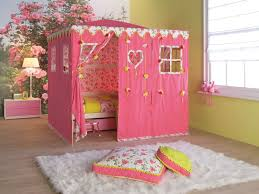 Bedroom Good Looking Design Ideas Kids Tent For Beds With