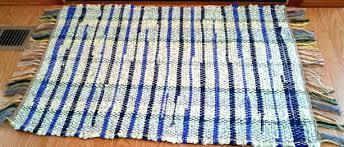 blue rag rug denim