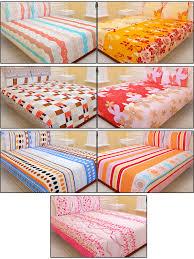 Sheet Online Royal Home Pack Of 7 Designer Bedsheets 7bs1
