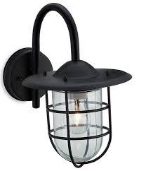 cage black wall lantern firstlight lighting