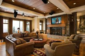 Glamorous Modern Rustic Living Room Furniture