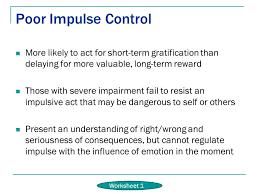 Impulse Control Worksheets | Homeschooldressage.com