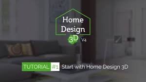 home design 3d tuto 1 start with home design 3d youtube