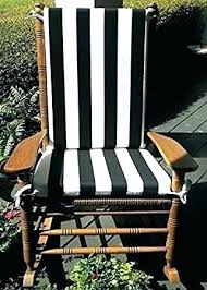 red rocking chair cushions outdoor