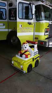 sparky the fire dog robot. the kingsport fire department unveiled their new sparky dog this week. kfd was robot