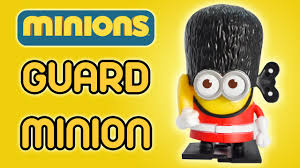 guard minion minions movie mcdonald s happy meal toy review guard minion minions movie 2015 mcdonald s happy meal toy review by ilovethistoy