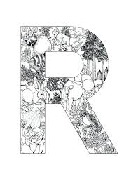 coloring pages letters alphabet coloring pages mandala coloring pages letters