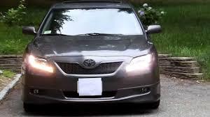 2007 Toyota Camry Daytime Running Lights 2009 Toyota Camry Custom High Power Led Switchback Drl Turn