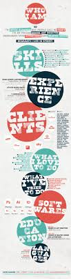 18 Best Resume Design Images On Pinterest Infographic Resume