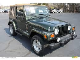 1998 Moss Green Pearl Jeep Wrangler Sahara 4x4 78023572
