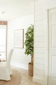 shiplap walls the easy way littleredbrickhouse com