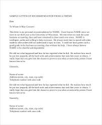 Professional Reference Letter Gplusnick